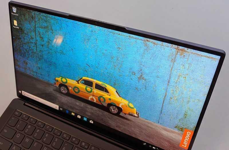 Lenovo Yoga S940 экран
