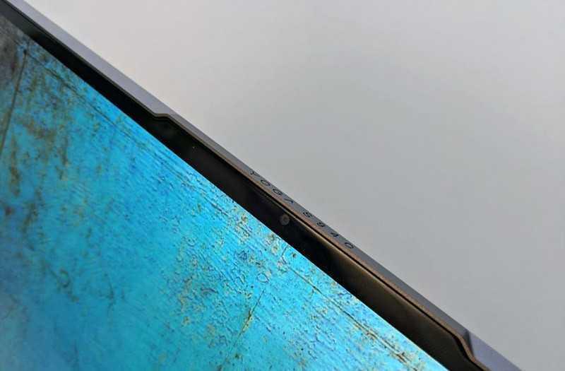 Lenovo Yoga S940 камеры
