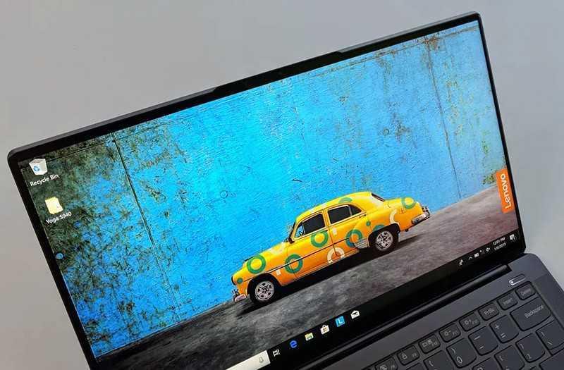 Lenovo Yoga S940 дисплей