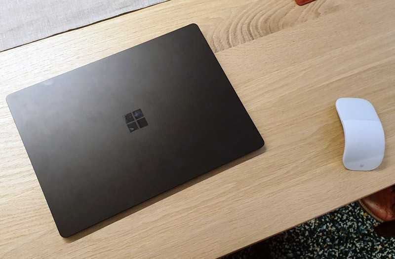 Microsoft Surface Laptop 3 дизайн