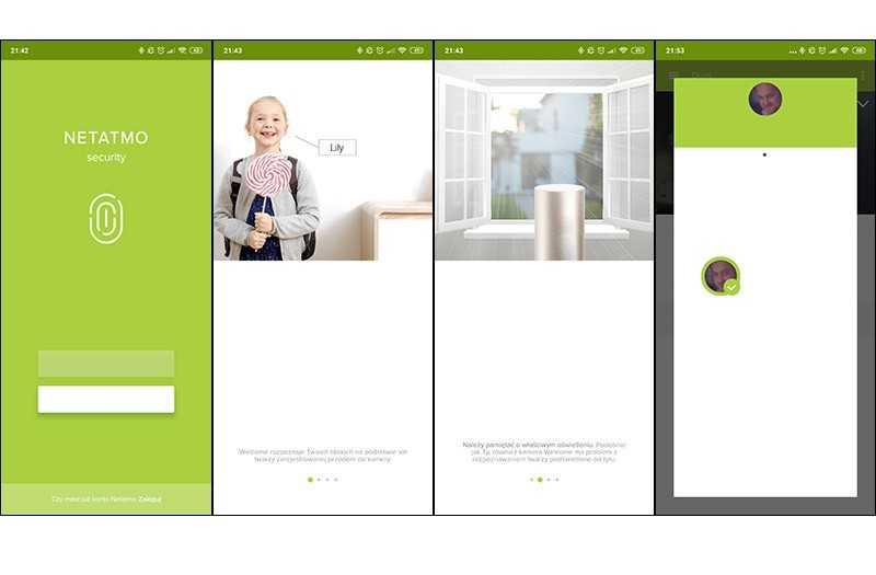 Netatmo Welcome приложение
