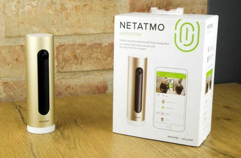 Характеристики Netatmo Welcome