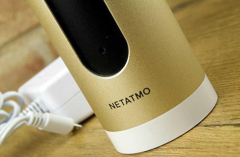 Netatmo Welcome особенности