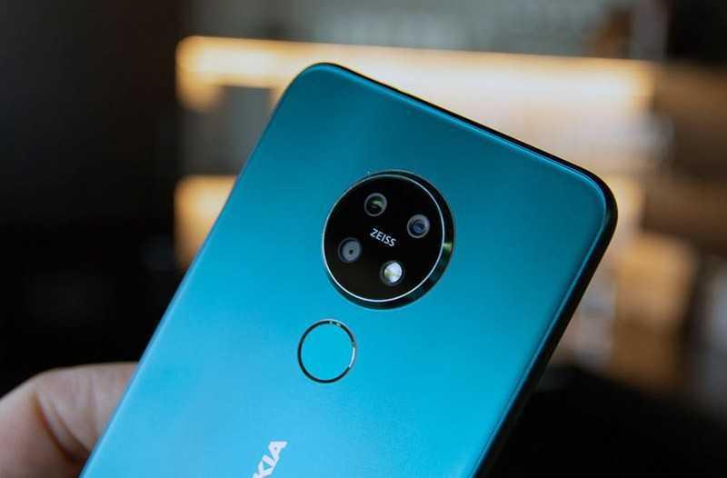Nokia 7.2 камеры
