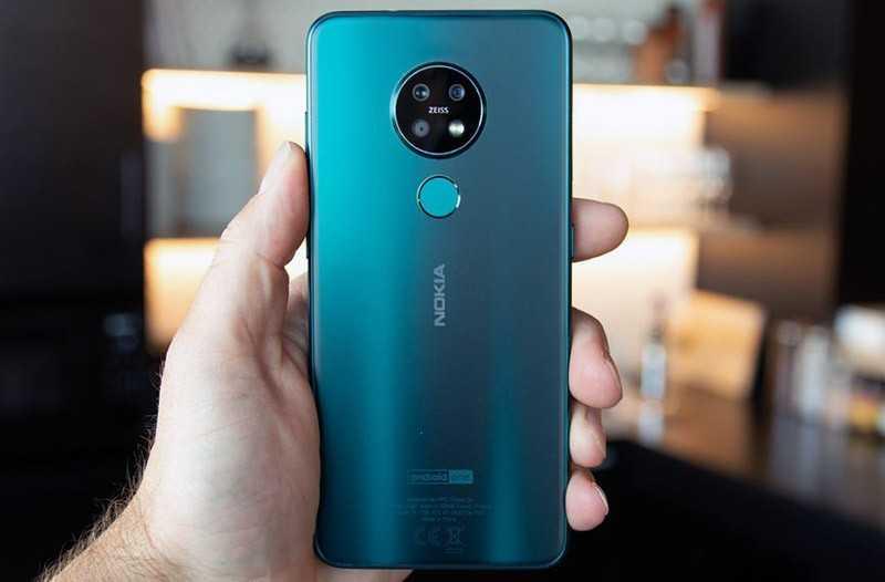 Nokia 7.2 автономность