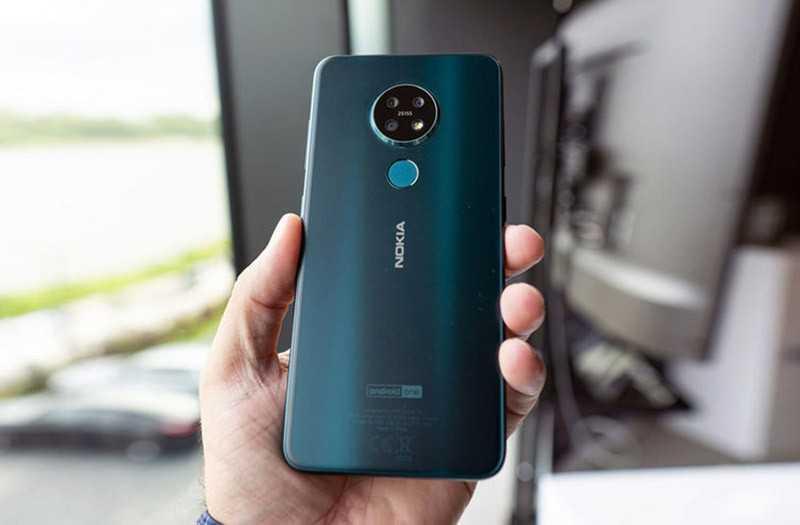 Nokia 7.2 дизайн