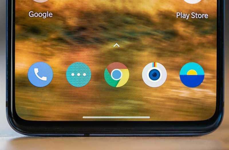 OnePlus 7T экран снизу