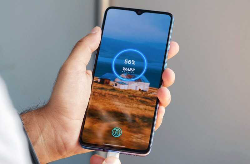 OnePlus 7T быстрая зарядка