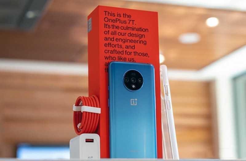 OnePlus 7T из коробки