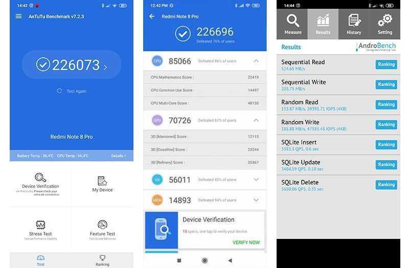 Тест Redmi Note 8 Pro