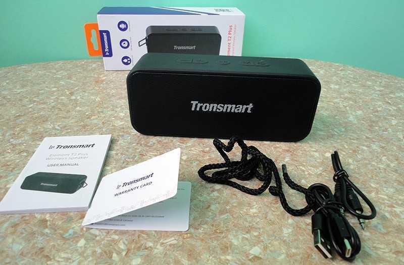 Tronsmart T2 Plus из коробки