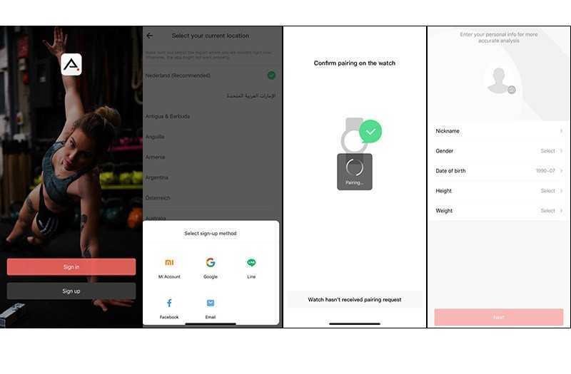 Xiaomi Amazfit GTR 42 функции