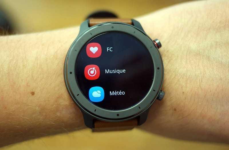 Xiaomi Amazfit GTR 42 смарт-часы