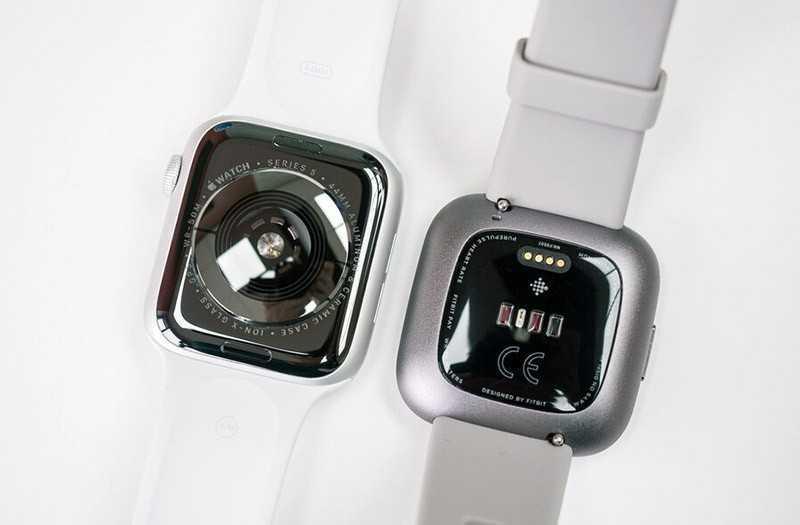 Характеристики Apple Watch Series 5 и Fitbit Versa 2