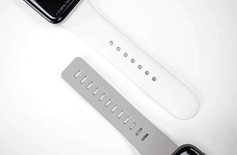 Apple Watch Series 5 vs Fitbit Versa 2 ремешки
