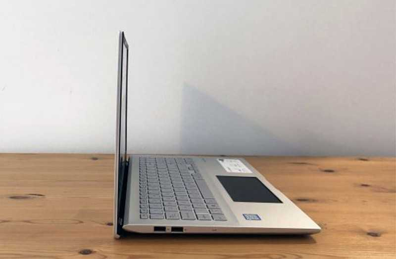 Asus VivoBook S15 дизайн