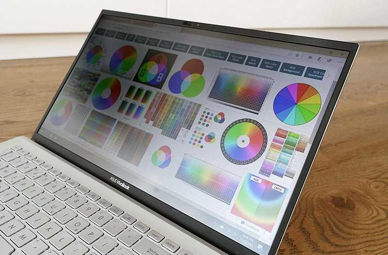 Asus VivoBook S15 экран