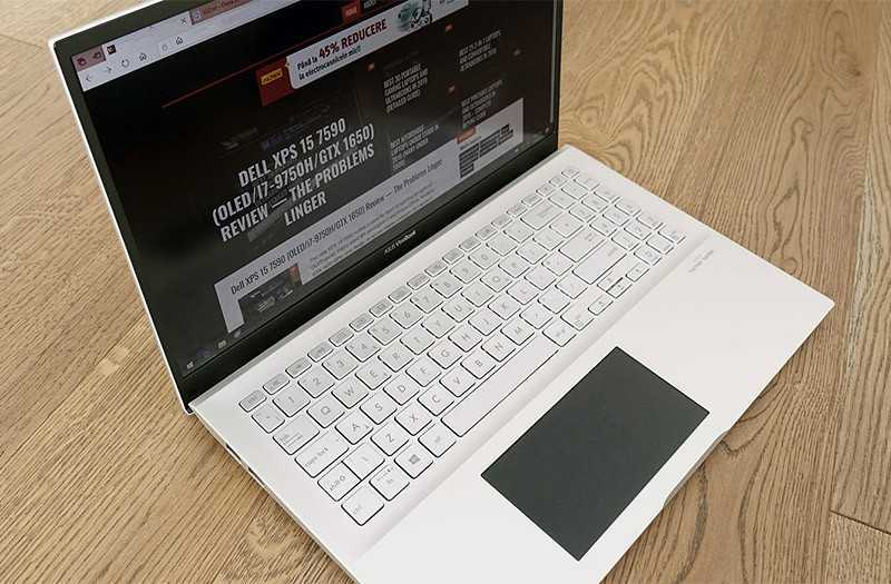 Asus VivoBook S15 особенности