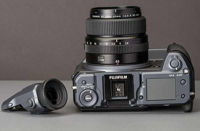 Fujifilm GFX 100 видоискатель
