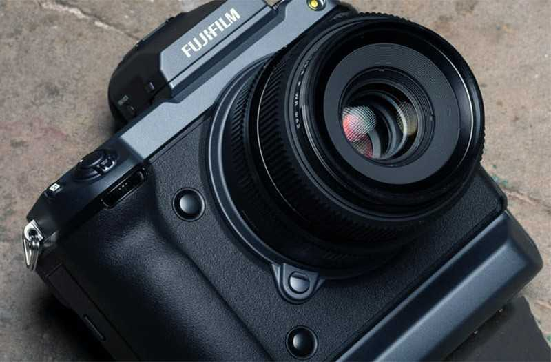 Fujifilm GFX 100 дизайн