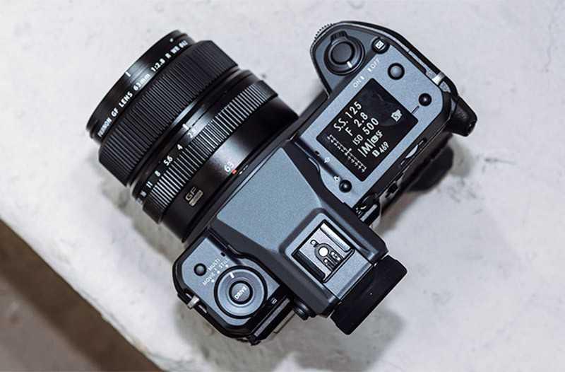 Fujifilm GFX 100 управление