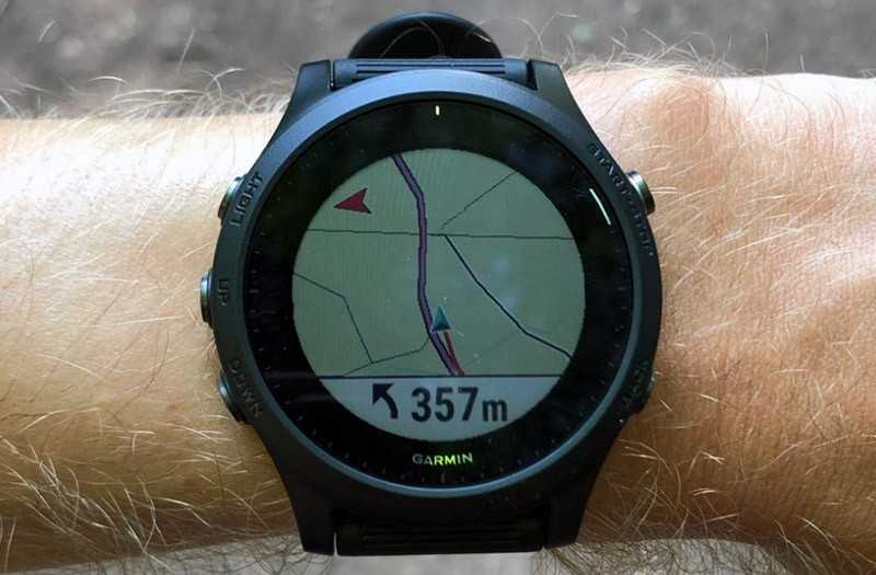 Garmin Forerunner 945 маршруты