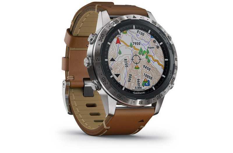 Garmin Marq Adventurer карты и GPS