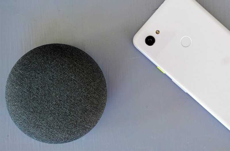 Колонка Google Nest Mini
