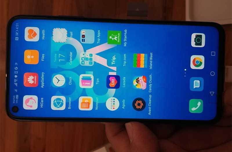 Huawei Nova 5t ОС