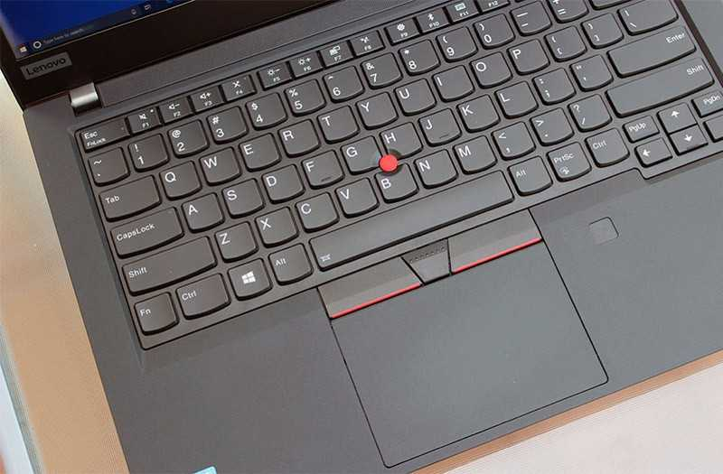 Lenovo ThinkPad T490 трекпад