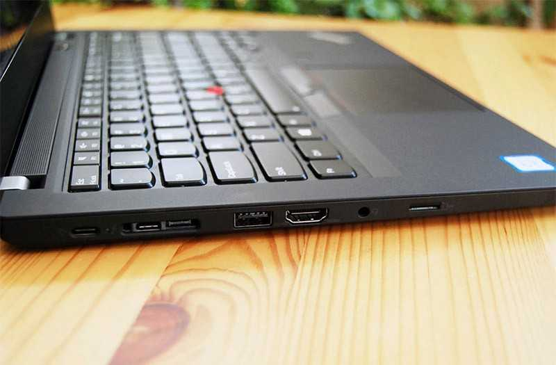 Lenovo ThinkPad T490 разъёмы