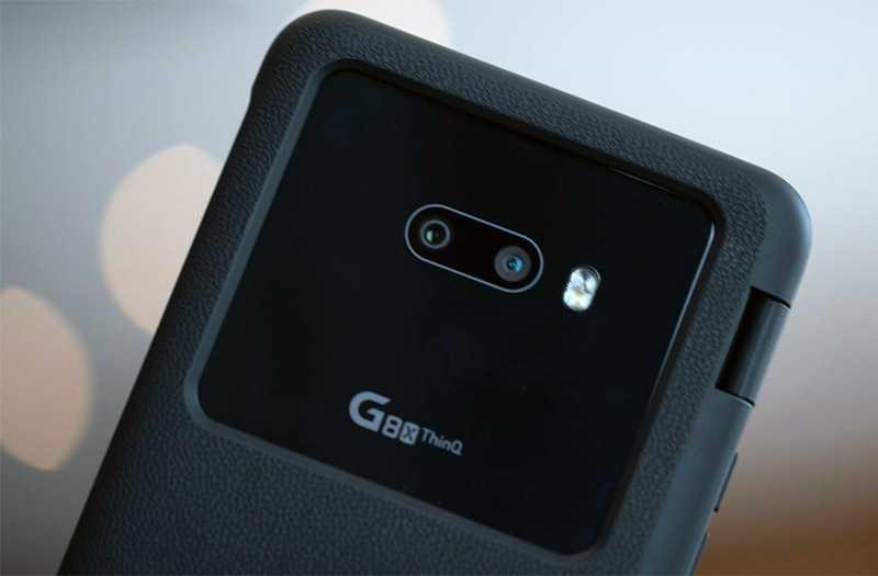 LG G8X ThinQ камеры