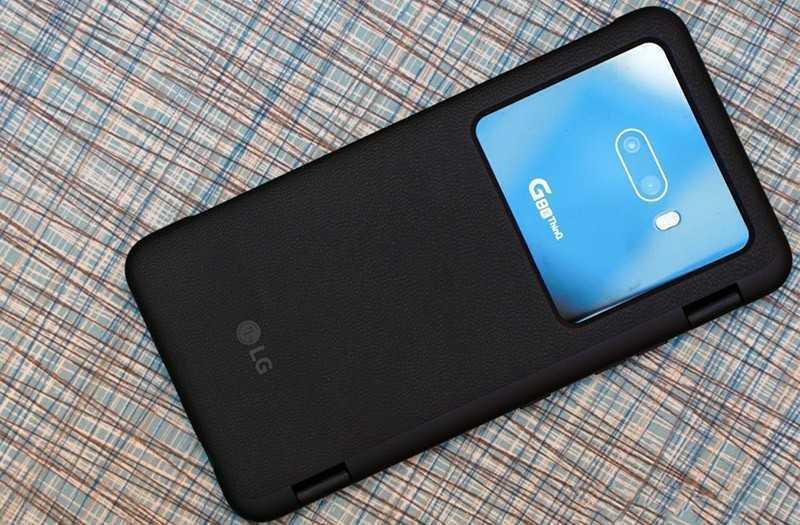 LG G8X ThinQ дизайн