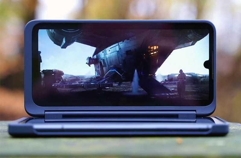LG G8X ThinQ дисплей