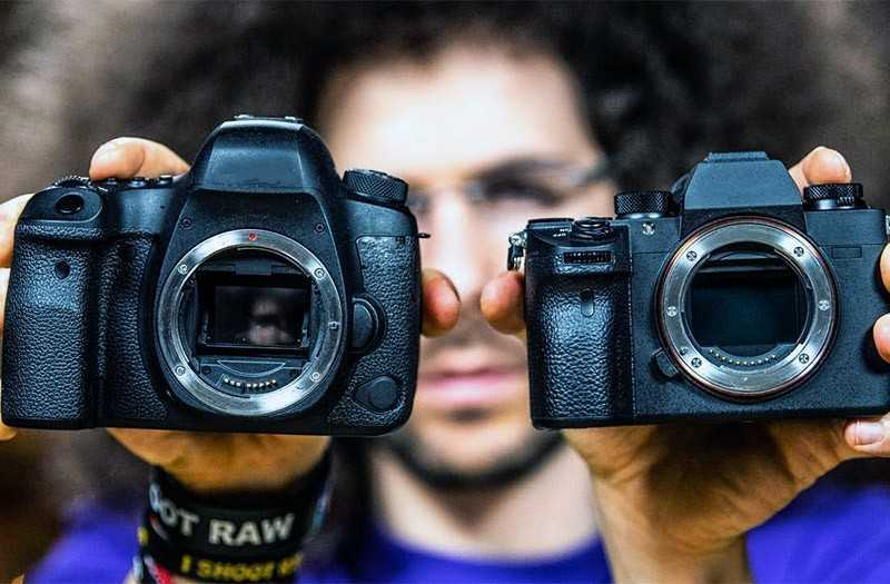 Что такое беззеркальные камеры?