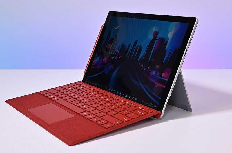 Тест Microsoft Surface Pro 7