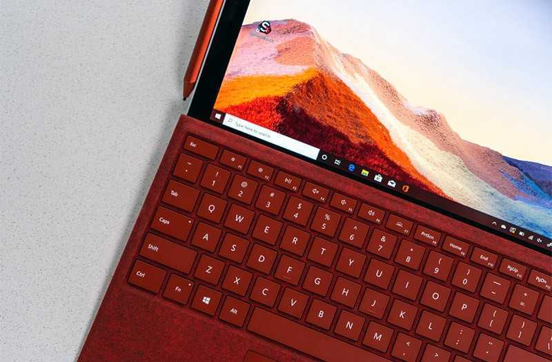 Характеристики Microsoft Surface Pro 7