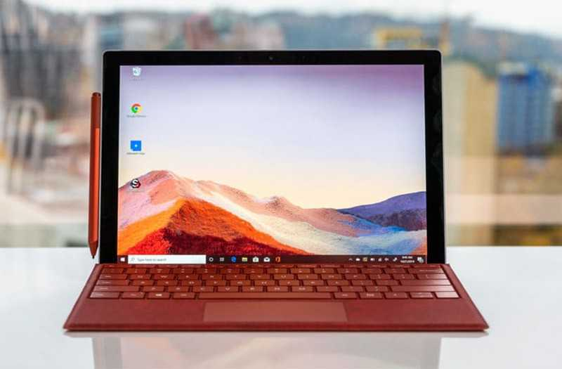 Microsoft Surface Pro 7 экран