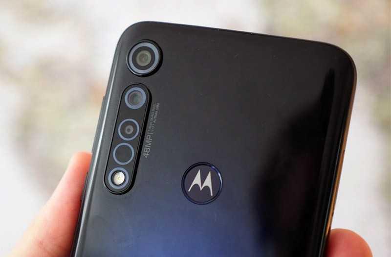Камеры Moto G8 Plus