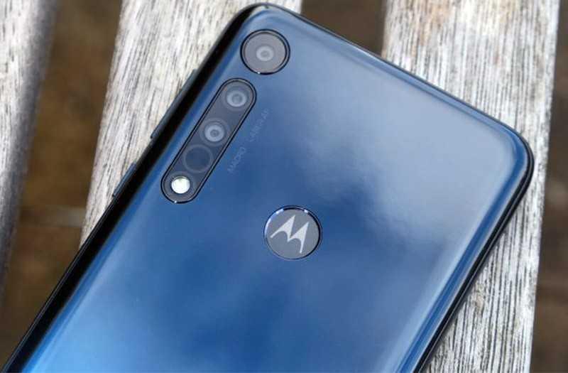 Motorola One Macro камера