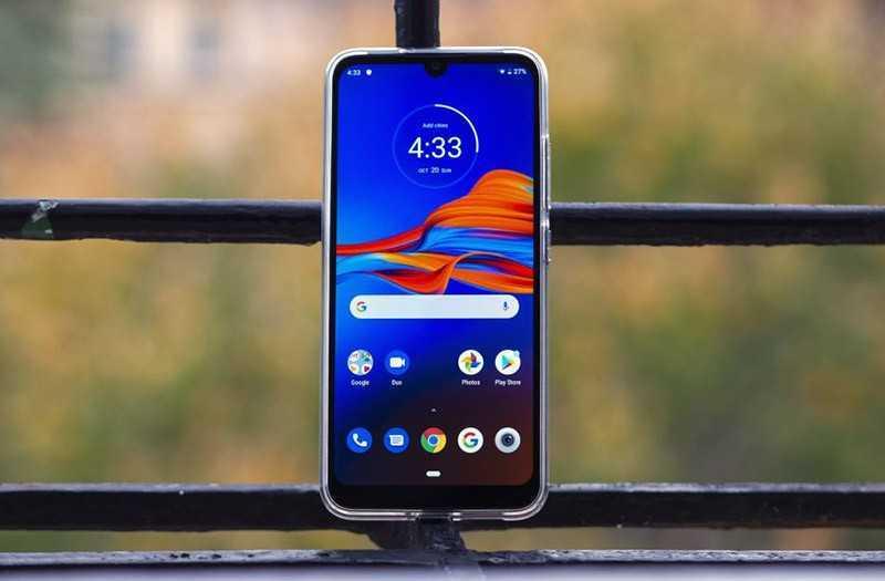 Motorola E6 Plus экран