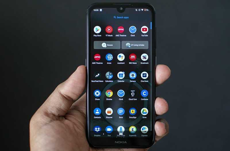 Nokia 4.2 экран