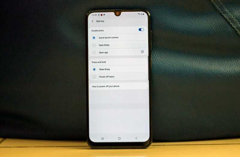 Samsung Galaxy A50s связь