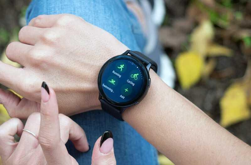 Samsung Galaxy Watch Active 2 режимы активности
