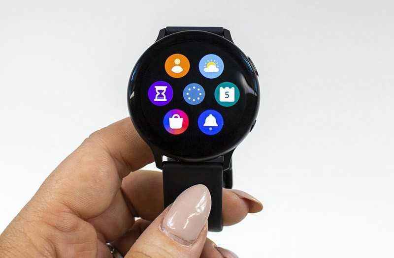 Samsung Galaxy Watch Active 2 меню