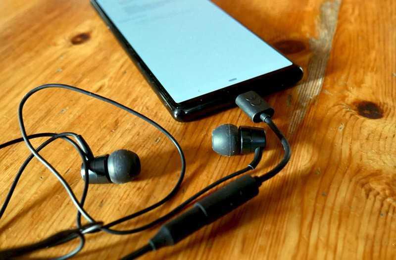 Sony Xperia 5 звук