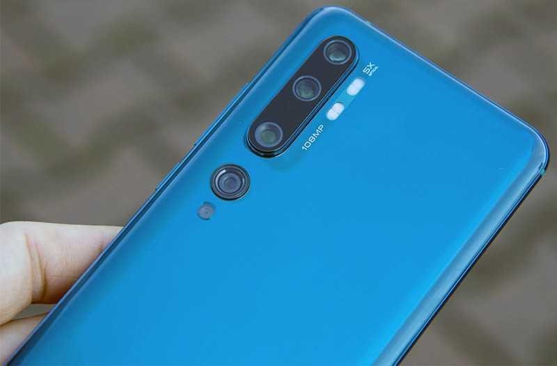 Xiaomi Mi Note 10 фотосъёмка