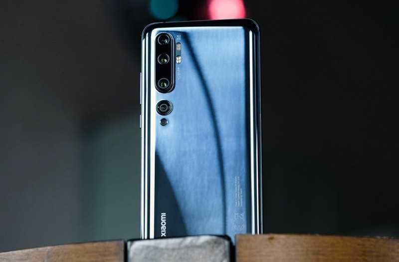 Xiaomi Mi Note 10 съёмка