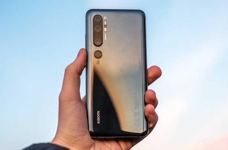 Телефон Xiaomi Mi Note 10