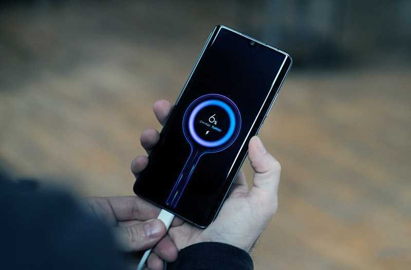 Xiaomi Mi Note 10 автономность
